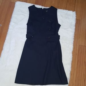 Top shop navy blue shift dress